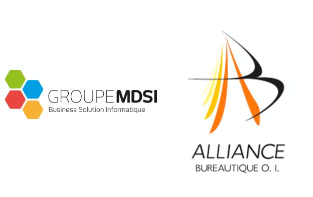 Partenariat Groupe MDSI & Alliance Bureautique O.I