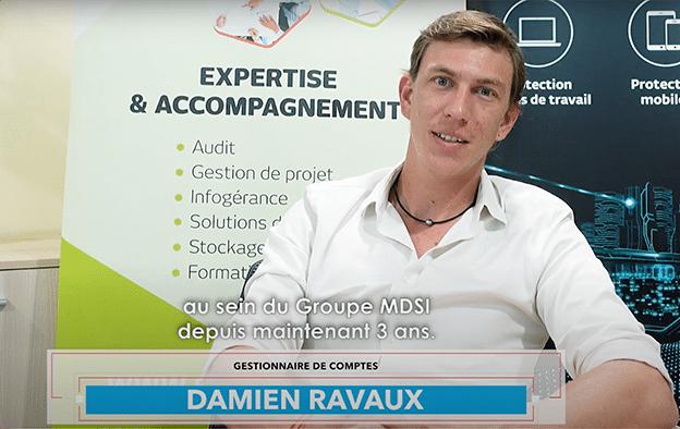 Damien Ravaux - Gestionnaire de comptes